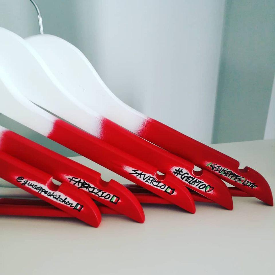 Giuseppes Lite Italian Coat Hangers