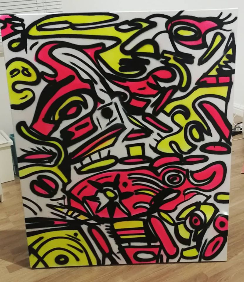 """""""INSANITY OF BRILLIANCE"""" Canvas"""