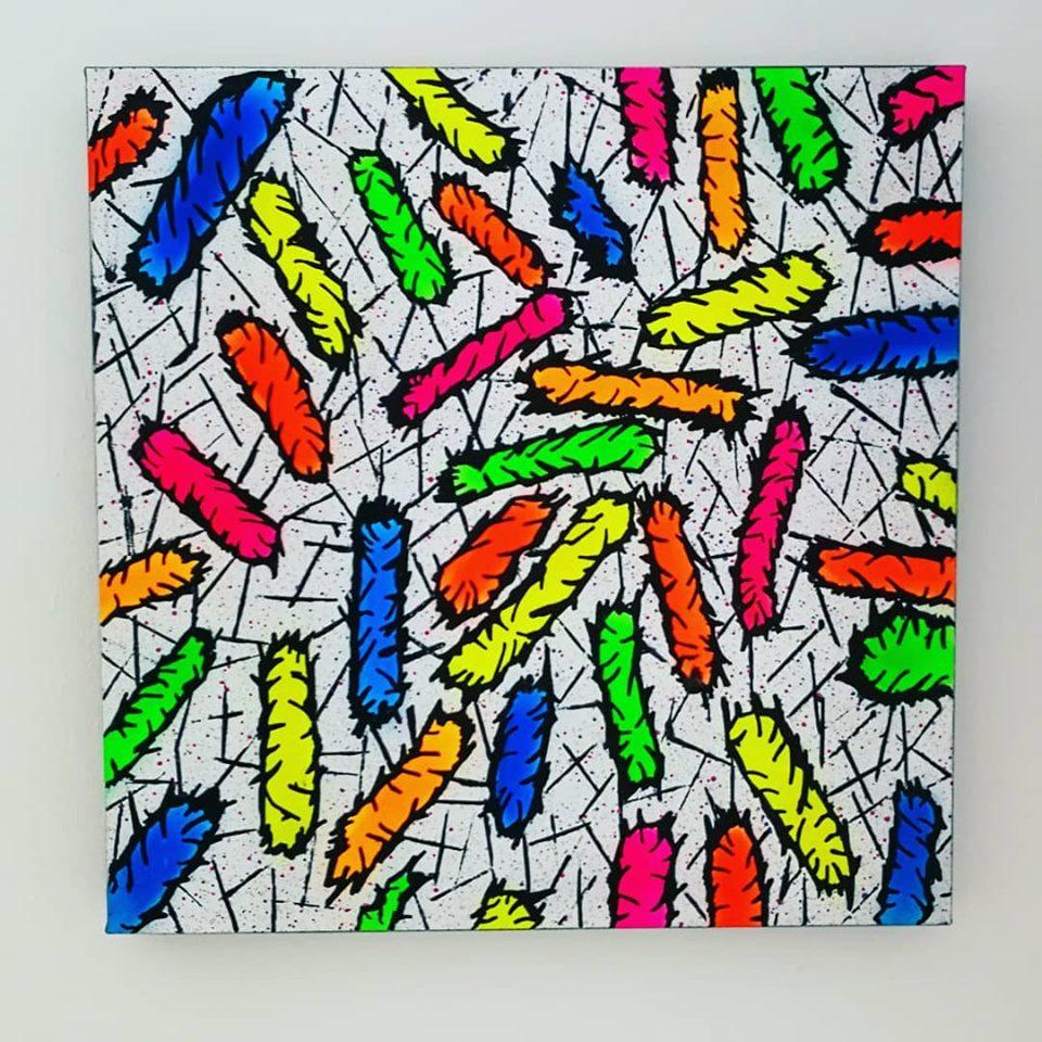 """PROBIOTIC ART"" Canvas"