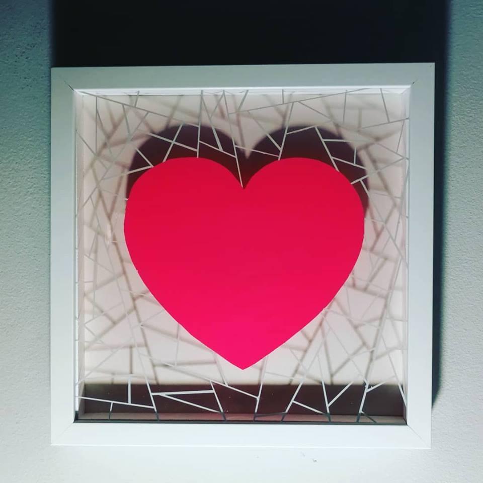 """""""SHATTERPROOF"""" Box Frame Art"""