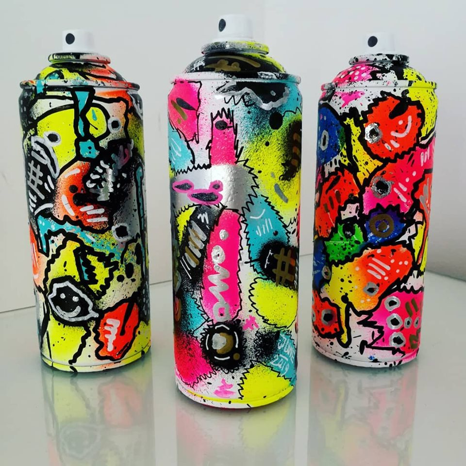 Art on Spray Cans
