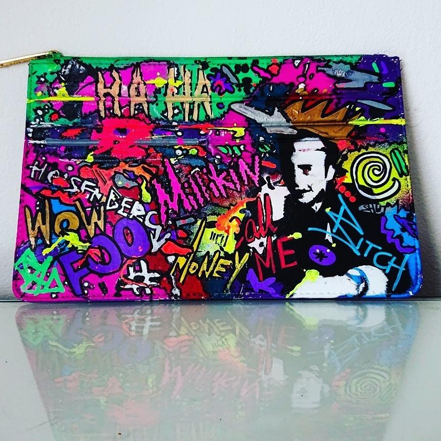 Elie Saab Le Parfum Pouch Graffiti Style