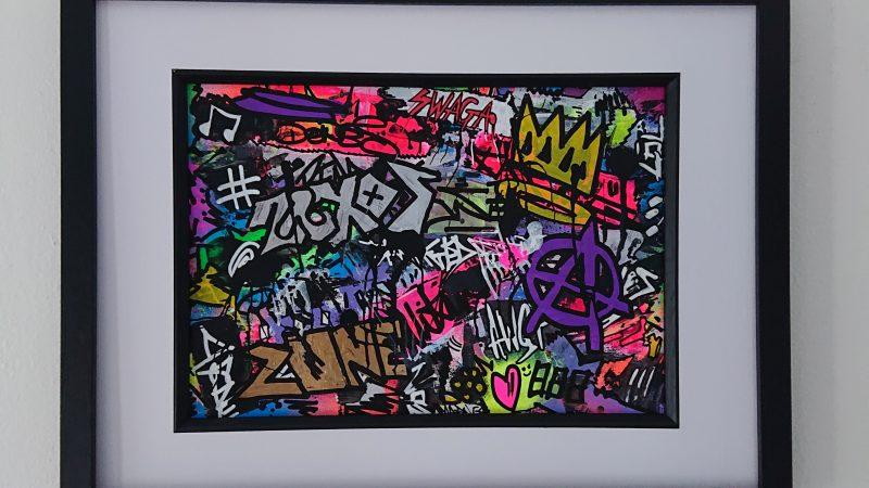 """""""KING OF PRIDE"""" Graffiti Spray Painting"""