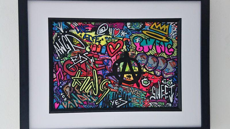 """WALL OF SHAME"" Graffiti Spray Painting"
