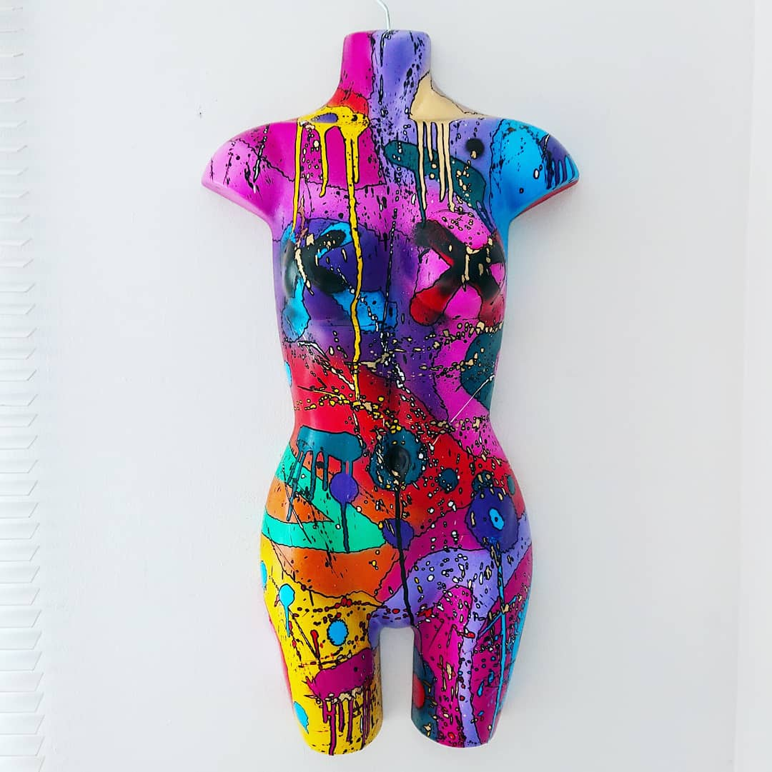 Female Mannequin Torso Art