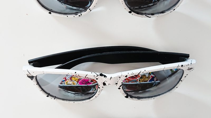 Spray Painted Sunglasses