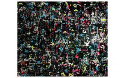 THE COLOUR OF EMPATHY – Graffiti Spray Paint Canvas