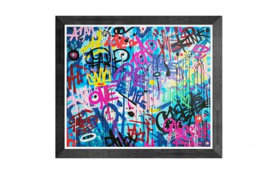 CREATIVE JUSTICE – Graffiti Tags On Canvas