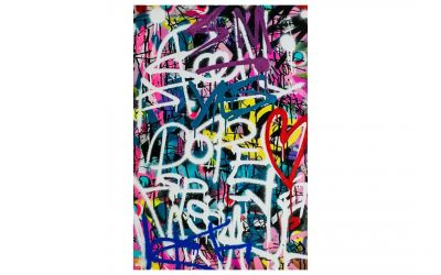 DON'T MESS – Graffiti Canvas