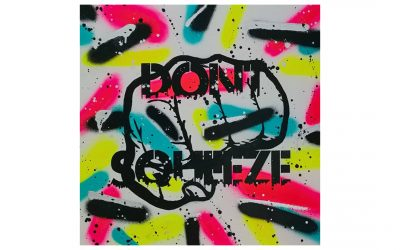 DON'T SQUEEZE – Graffiti Canvas