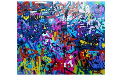 Misunderstood – Graffiti Tags on Canvas