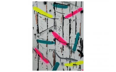 PUNISHMENT OF BRAVERY – Graffiti Spray Paint Canvas