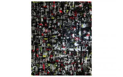 DISTORTED SHADOW – Graffiti Spray Paint Canvas