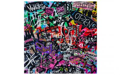 SWAG IN THE CITY – Urban Graffiti Canvas