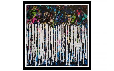 Mind of a Slug – Spray Painting on Canvas